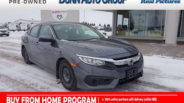 2018 Honda Civic Sedan | EX Sedan | LANE KEEP ASSIST | SIDE CAMERA | EX CVT Regular Unleaded I-4 2.0 L/122 [4]