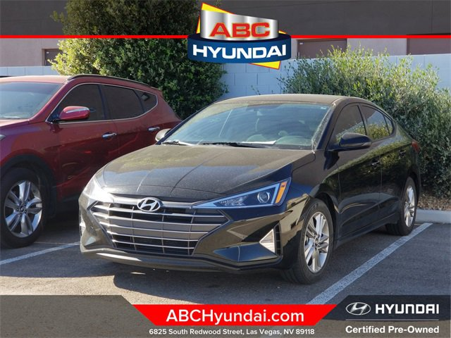 2019 Hyundai Elantra SEL SEL Auto Regular Unleaded I-4 2.0 L/122 [6]