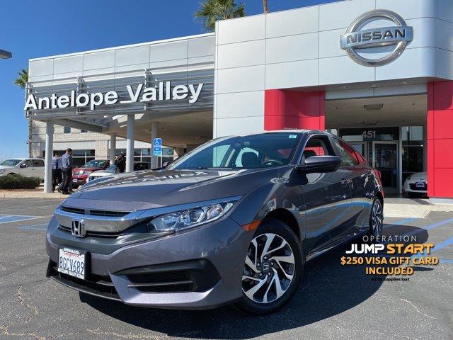 2018 Honda Civic Sedan EX EX CVT Regular Unleaded I-4 2.0 L/122 [1]