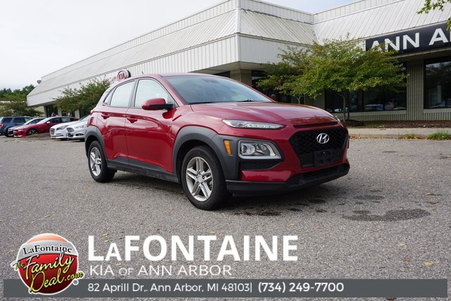 2019 Hyundai Kona SE GRAYBLACK  CLOTH SEAT TRIM PULSE RED All Wheel Drive Power Steering ABS