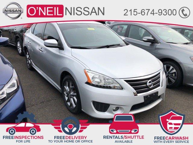 2013 Nissan Sentra SR 4dr Sdn I4 CVT SR Gas I4 1.8L/ [9]