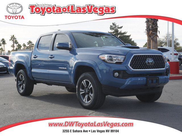 2019 Toyota Tacoma TRD Sport TRD Sport Double Cab 5′ Bed V6 AT Regular Unleaded V-6 3.5 L/211 [1]