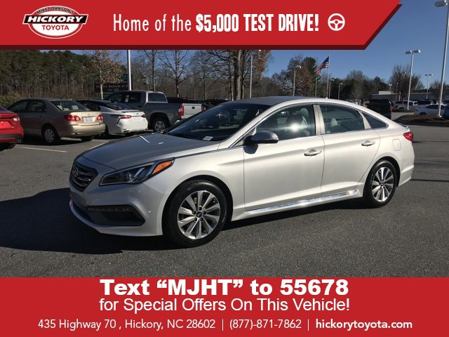 Used 2016 Hyundai Sonata in Hickory, NC