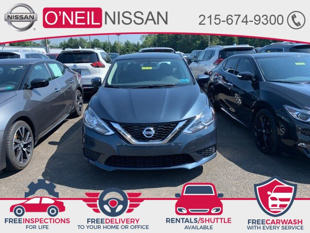 2017 Nissan Sentra SV SV CVT Regular Unleaded I-4 1.8 L/110 [6]