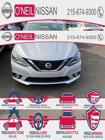2017 Nissan Sentra SR SR CVT Regular Unleaded I-4 1.8 L/110 [7]