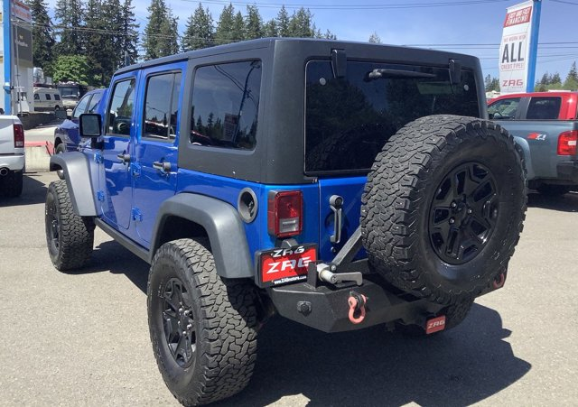 2015 Jeep Wrangler Unlimited 4WD 4dr Willys Wheeler