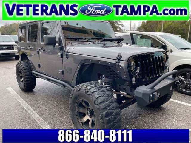 2016 Jeep Wrangler Unlimited Unlimited Willys Wheeler