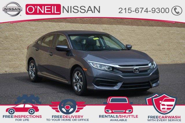2017 Honda Civic Sedan LX LX CVT Regular Unleaded I-4 2.0 L/122 [0]