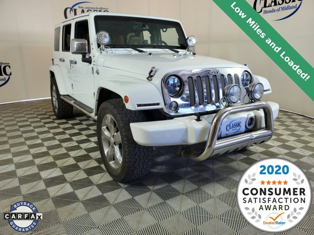 Used 2014 Jeep Wrangler Unlimited in Midland, TX