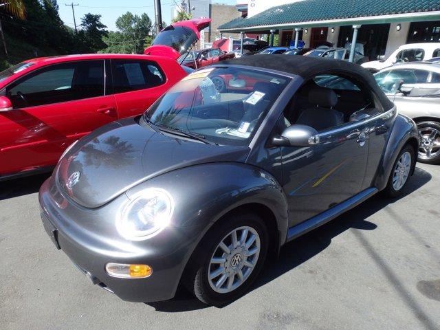 Used 2004 Volkswagen New Beetle Convertible 2dr Convertible GLS Auto