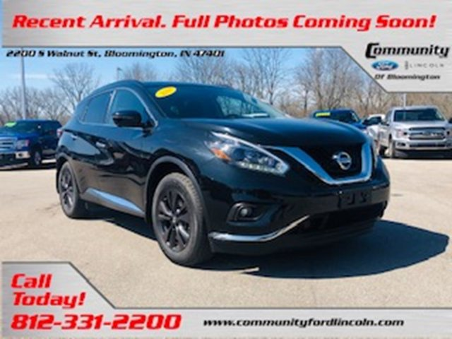 Used 2018 Nissan Murano in Bloomington, IN