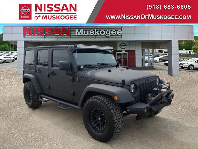 Used 2014 Jeep Wrangler Unlimited in Muskogee, OK