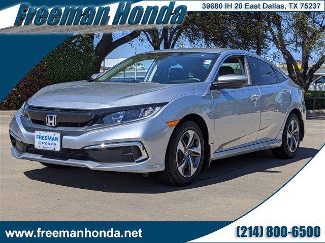 Used 2020 Honda Civic Sedan in Dallas, TX