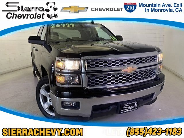 2015 Chevrolet Silverado 1500 LT TIRES  P27555R20 ALL-SEASON  BLACKWALL DIFFERENTIAL  HEAVY-DUTY