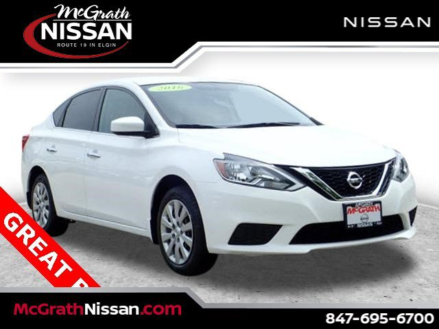 2016 Nissan Sentra S 4dr Sdn I4 CVT S Regular Unleaded I-4 1.8 L/110 [0]