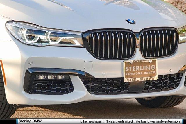 2017 BMW 7 Series 750i Sedan