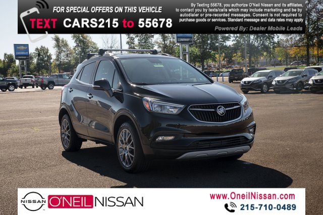 2018 Buick Encore Sport Touring AWD 4dr Sport Touring Turbocharged I4 1.4/83 [0]