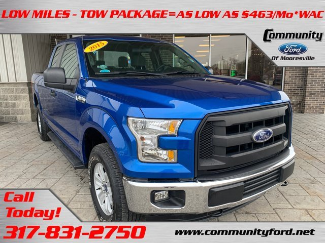 Used 2015 Ford F-150 in Bloomington, IN