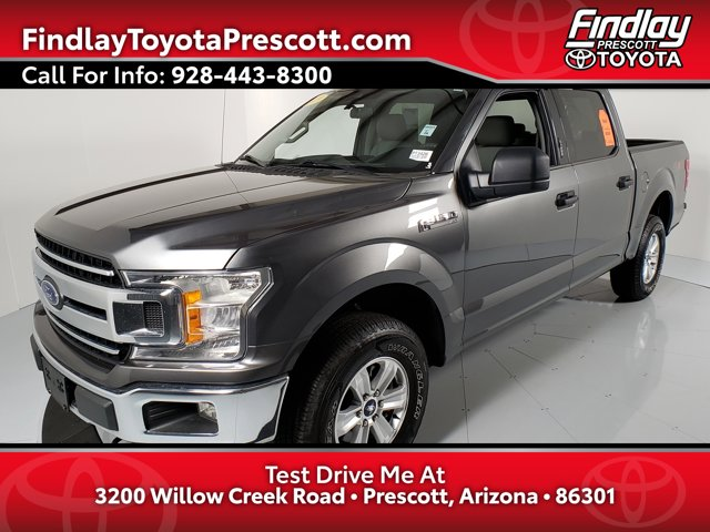 2019 Ford F-150 XLT XLT 4WD SuperCrew 5.5′ Box Twin Turbo Regular Unleaded V-6 2.7 L/164 [10]