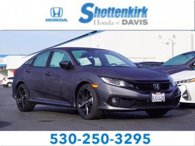 Used 2019 Honda Civic Sedan in Davis, CA
