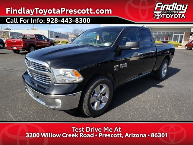 2014 Ram 1500 Big Horn 2WD Quad Cab 140.5″ Big Horn Regular Unleaded V-8 5.7 L/345 [1]