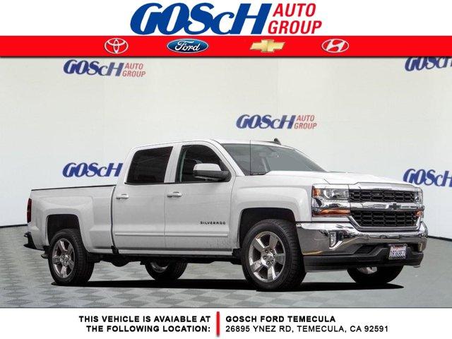 """2017 Chevrolet Silverado 1500 LT 2WD Crew Cab 153.0"""" LT w/1LT Gas V8 5.3L/325 [1]"""