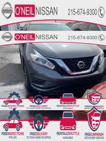 2017 Nissan Murano S 2017.5 AWD S Regular Unleaded V-6 3.5 L/213 [6]
