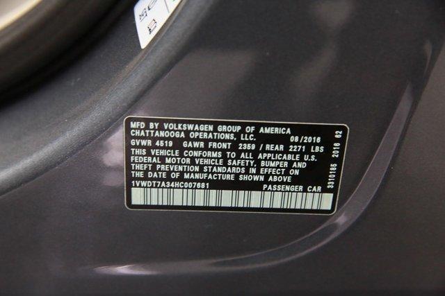 2017 Volkswagen Passat for sale 123629 30