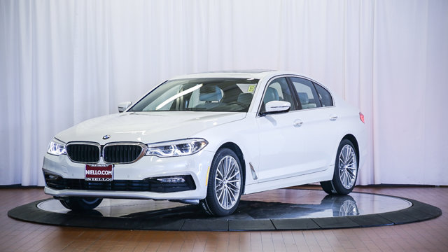 Used 2017 BMW 5 Series 530i Sedan