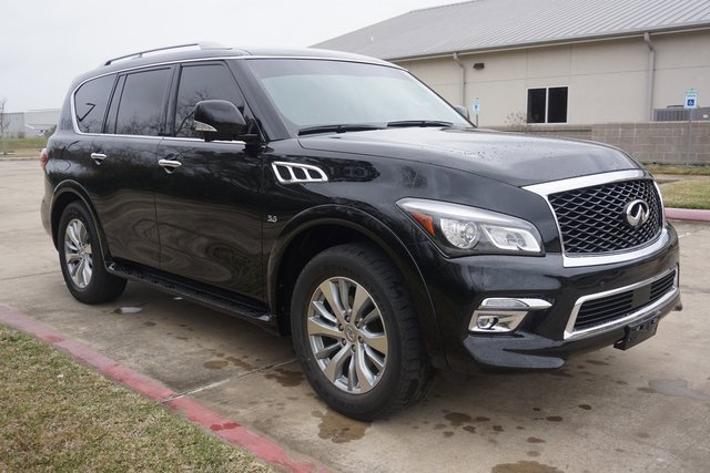 Used 2017 INFINITI QX80 in Port Arthur, TX