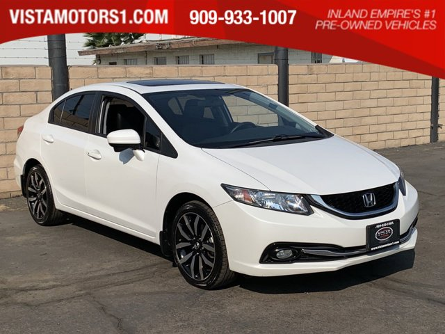 2015 Honda Civic EX-L 4D Sedan 4-Cyl PZEV iVTEC 1.8L