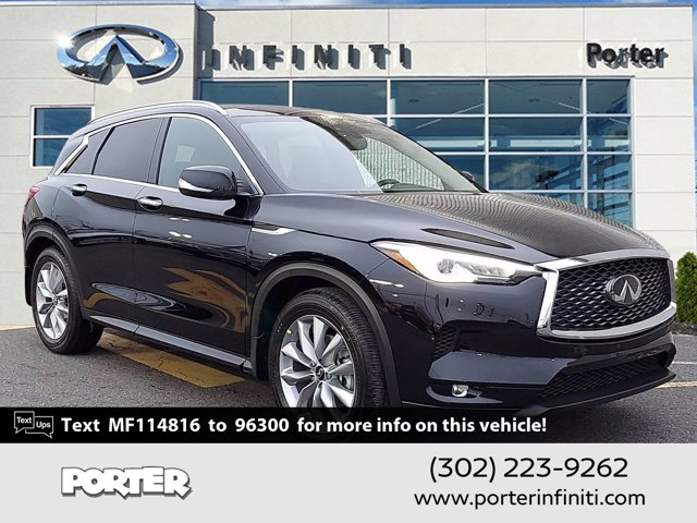 2021 INFINITI QX50 LUXE LUXE AWD Intercooled Turbo Premium Unleaded I-4 2.0 L/121 [12]