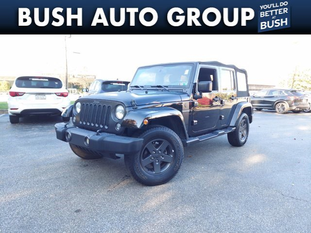 2016 Jeep Wrangler Unlimited Freedom 4WD 4dr Freedom *Ltd Avail* Regular Unleaded V-6 3.6 L/220 [0]