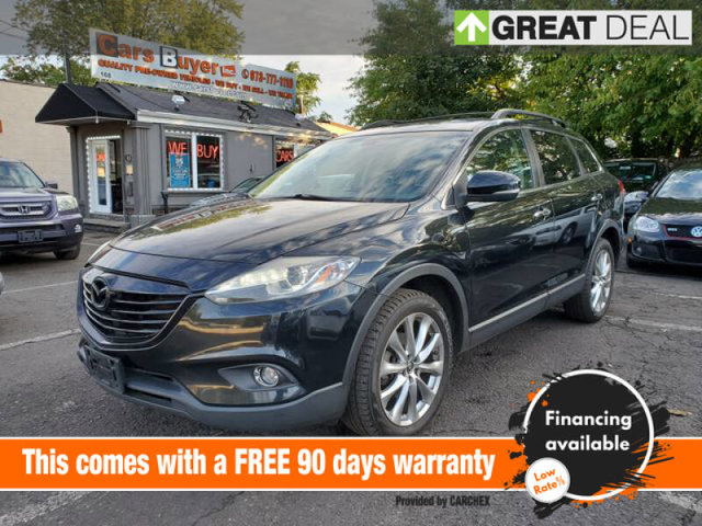 2015 Mazda CX-9 Grand Touring GT TECHNOLOGY PACKAGE  -inc Bose Centerpoint w10 speakers  Recreati