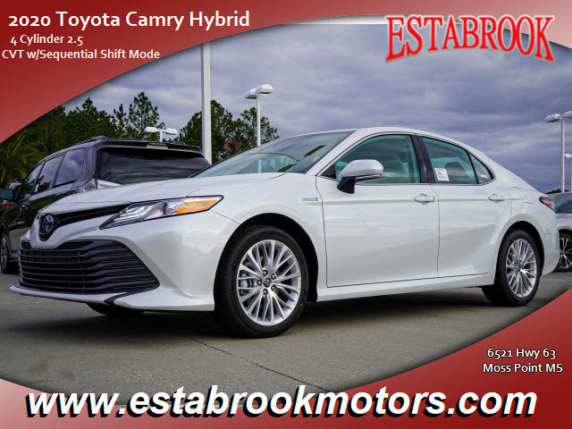 New 2020 Toyota Camry Hybrid in Moss Point, MS