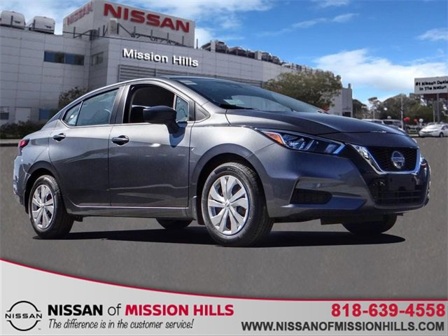 2020 Nissan Versa S S CVT Regular Unleaded I-4 1.6 L/98 [12]