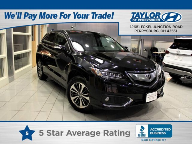 2018 Acura RDX wAdvance Pkg All Wheel Drive Power Steering ABS 4-Wheel Disc Brakes Brake Assis
