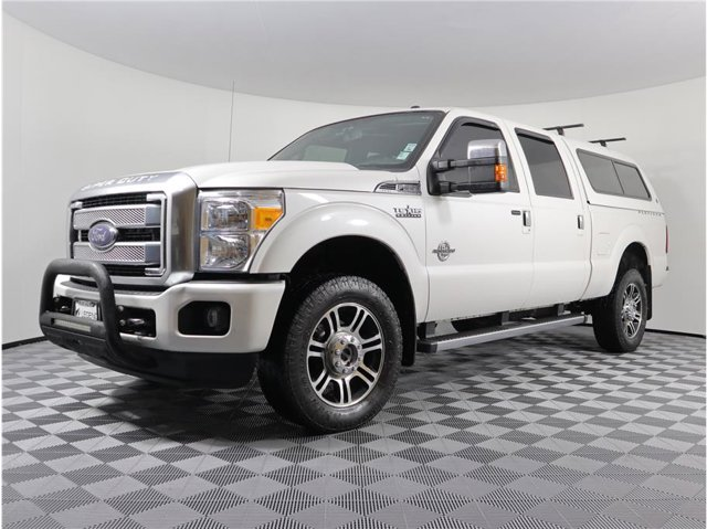 2015 Ford Super Duty F-350 SRW Platinum Pickup 4D 6 3/4 ft