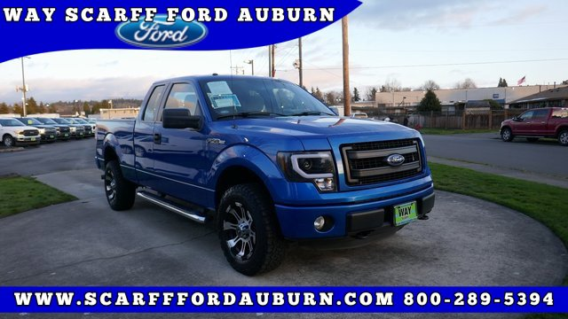 Used 2013 Ford F-150 4WD SuperCab 145 STX