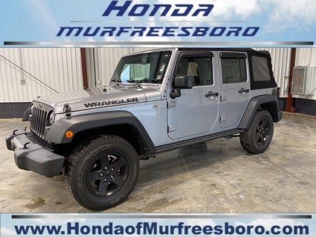 Used 2016 Jeep Wrangler Unlimited in Murfreesboro, TN