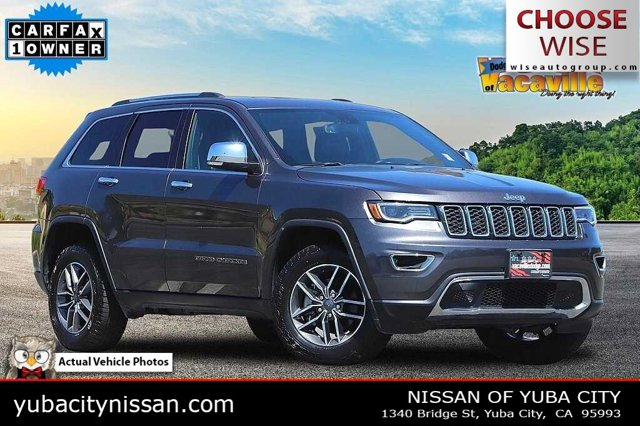 2019 Jeep Grand Cherokee Limited Limited 4x2 Regular Unleaded V-6 3.6 L/220 [0]