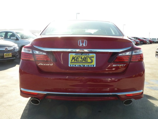 New 2017 Honda Accord Sedan Sport CVT