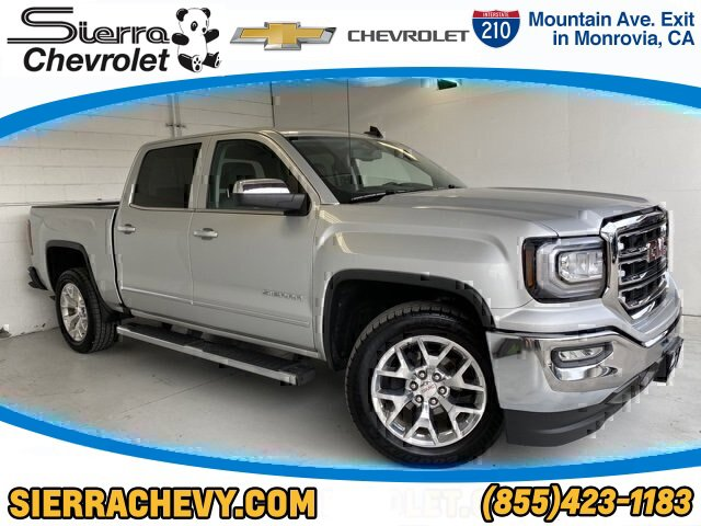 2017 GMC Sierra 1500 SLT TIRES  P27555R20 ALL-SEASON  BLACKWALL SEATS  FRONT 402040 LEATHER-APP