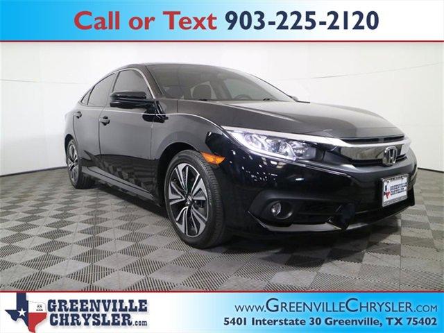 Used 2018 Honda Civic Sedan in Greenville, TX