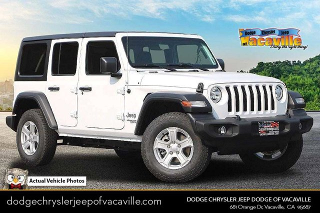 2021 Jeep Wrangler Sport S Sport S Unlimited 4x4 Gas/Electric V-6 3.6 L/220 [1]
