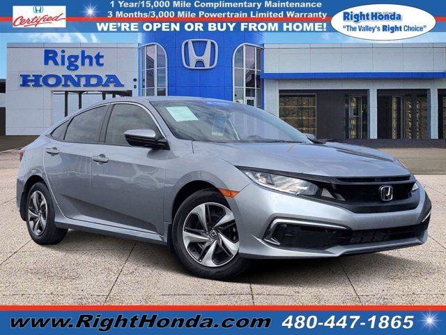 2019 Honda Civic LX LX CVT Regular Unleaded I-4 2.0 L/122 [17]