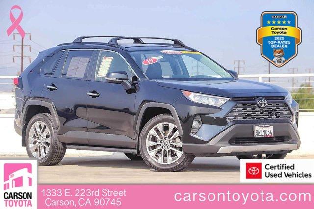 2019 Toyota RAV4 Limited Limited FWD Regular Unleaded I-4 2.5 L/152 [11]