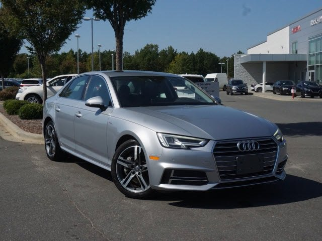 2018 Audi A4 Tech Premium Plus 2.0 TFSI Tech Premium Plus S Tronic quattro AWD Intercooled Turbo Premium Unleaded I-4 2.0 L/121 [0]