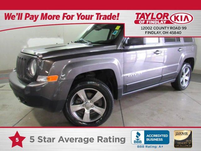 2016 Jeep Patriot High Altitude Edition GRANITE CRYSTAL METALLIC CLEARCOAT TRANSMISSION 6-SPEED A