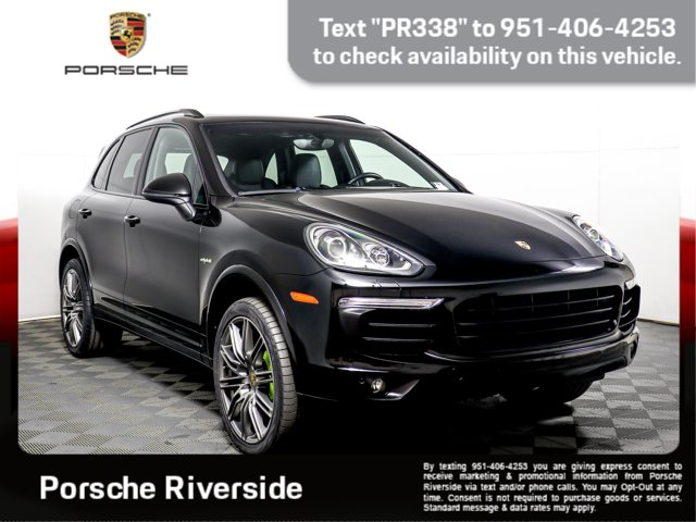 2017 Porsche Cayenne S E-Hybrid Platinum Edition S E-Hybrid Platinum Edition AWD Plug-in Hybrid Electric w/ 3.0L Supercharged V6 [3]